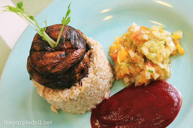 Portobello Inasal by Pipino Vegetarian Food