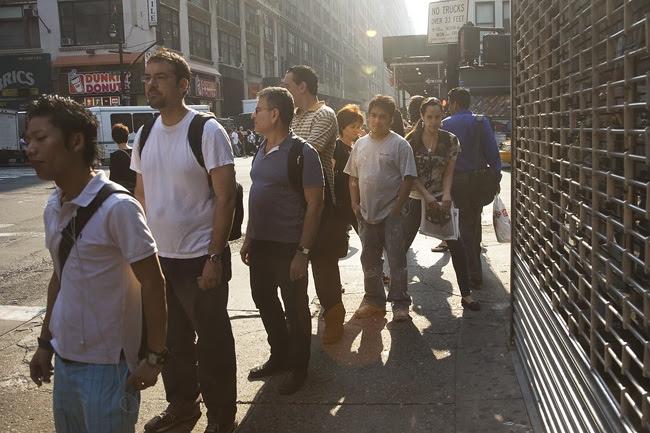 On line, Midtown