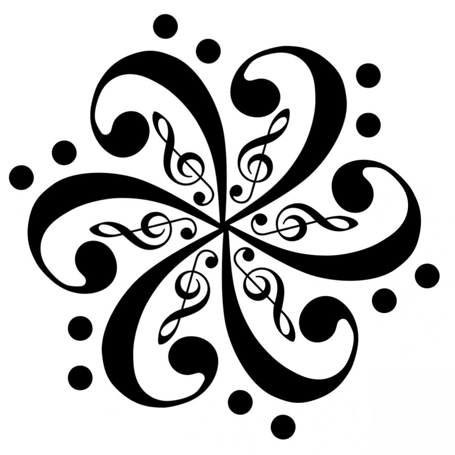 Musical Notes Tattoo Shape Star Tattoomagz