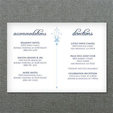 Deco Scroll Wedding Reception Card Template ? Download & Print