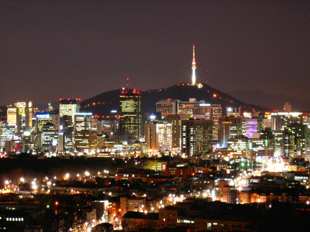 Kumpulan Sketsa Gambar Kota Seoul