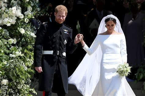Designer Already Copied Meghan Markle's Wedding Dresses   Time
