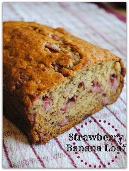 Home of OHM strawberry banana loaf