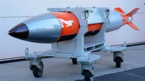 A B61-12 nuclear weapon ©the Center for Investigative Reporting