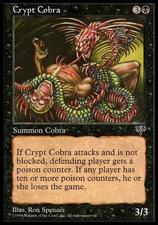 Cobra de las criptas