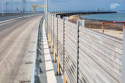 Автоподход к Крымскому мосту превратят в полигон для испытаний беспилотников