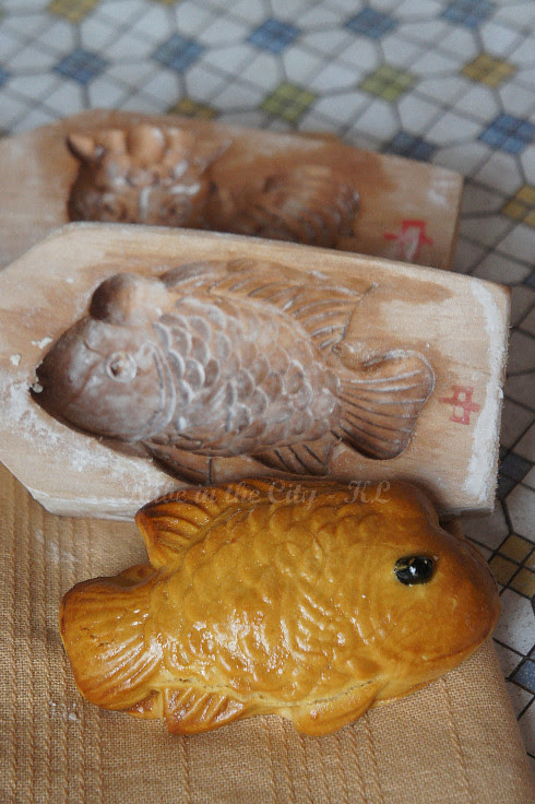 Moon Festival Cutey Biscuits - Red Bean Paste Fishy