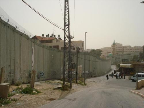 abu dis wall