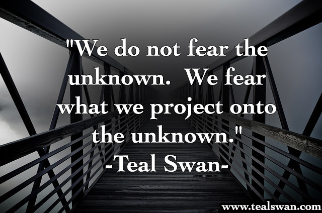 Quotes About Fear Of The Unknown. QuotesGram