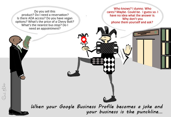 How to Guard Your Google Business Profile from Becoming a Running Joke