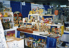 1990's Comic Con Show Booth