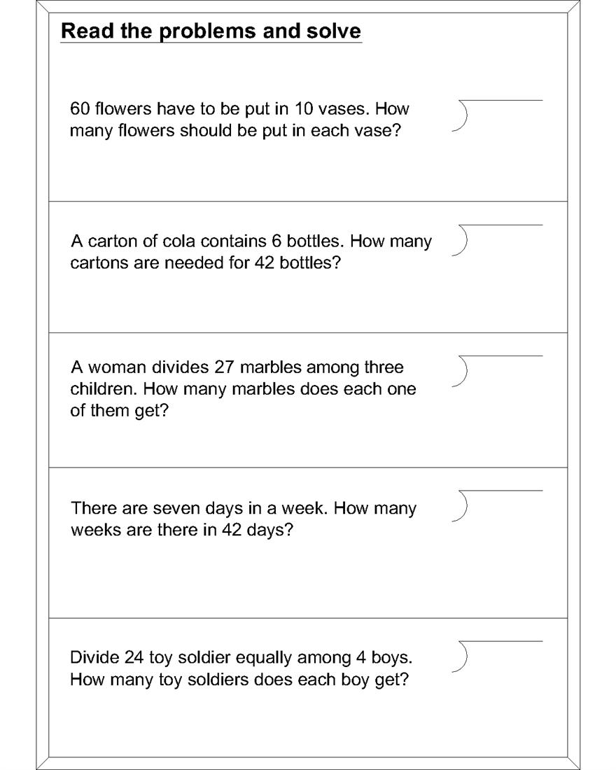 Grade 5 Math Word Problems Pdf Blogsavenue