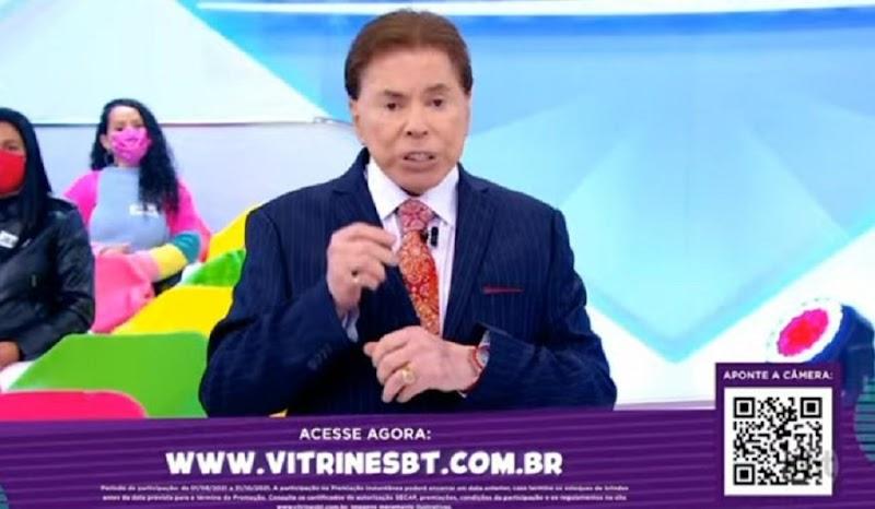 SILVIO SANTOS VOLTA A COMANDAR PROGRAMA E VIRA MEME POR CONTA DE DENTES