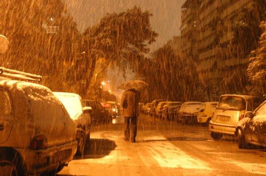 Νύχτα με χιόνια και θυελλώδεις ανέμους που φτάνουν και τα 100 χλμ/ώρα - Ποιές περιοχές θα πληγούν από την κακοκαιρία