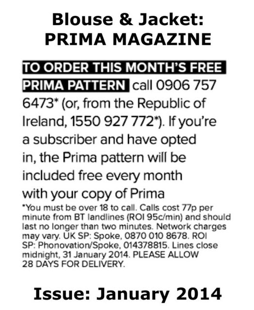 Prima Magazine - Pattern, January 2014 (04)
