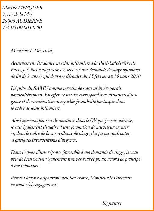 Lettre De Motivation Inscription Lycée Privé