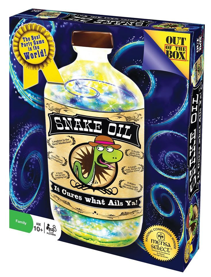Snake Oil from Out of the Box Games ~ Review at Circling Through This Life