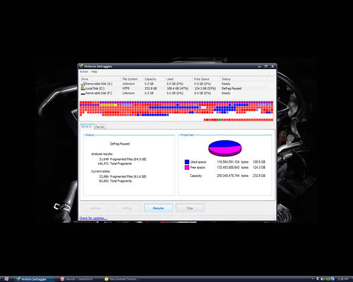 Disk Cleanup and Defragment