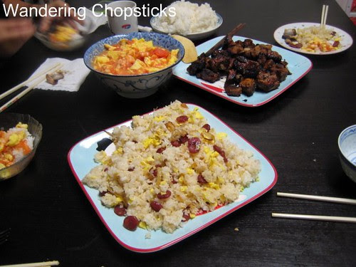 Fried Rice with Chinese Sausage, Eggs, and Lettuce 8