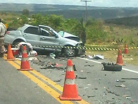 Fiat Siena levava vítimas. Foto: Leitor do Blog Marcos Frahm