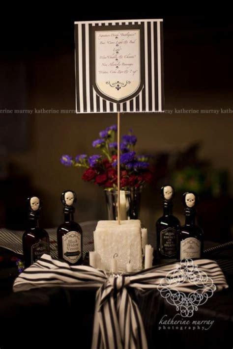 Tim Burton theme, Beetlejuice Bar Menu & Hatters Mad Brew