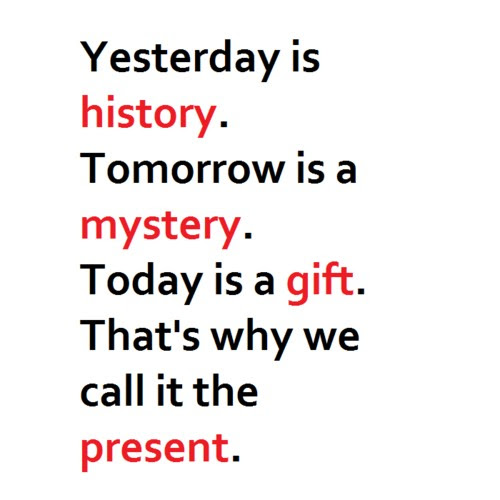 Kung Fu Panda Quote The Present Is A Gift Quote Number 690557