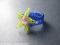 Atlantis Star Ring by The Sage's Cupboard