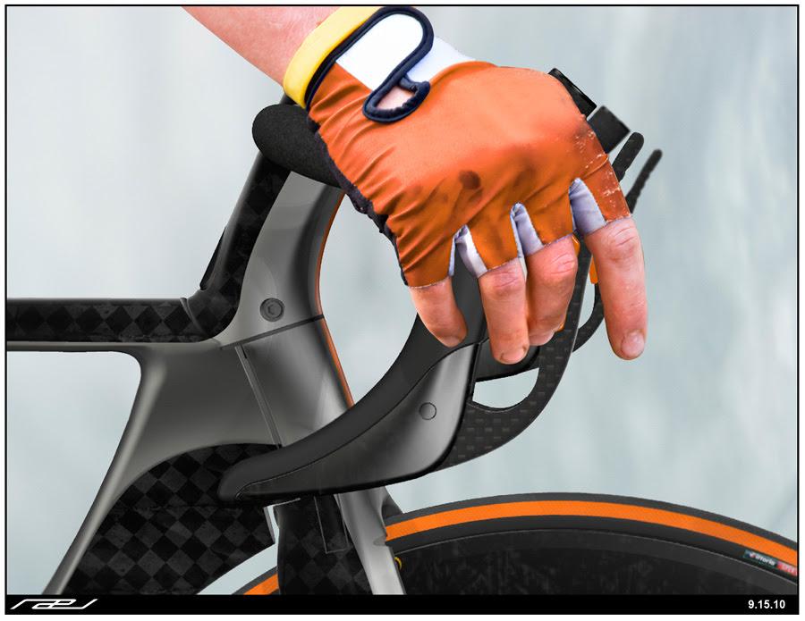 Rael handlebar and brake levers