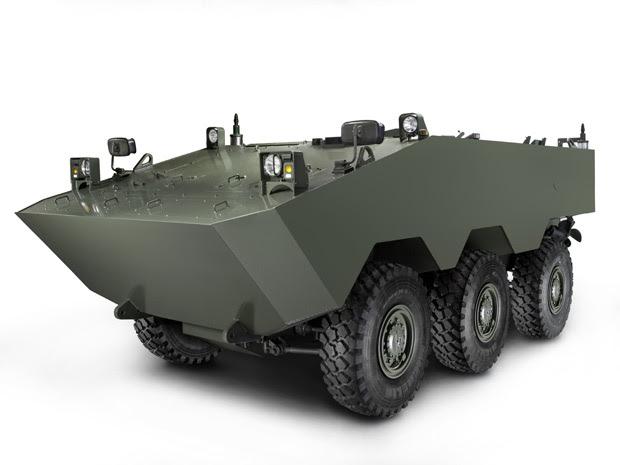 VBTP Guarani é o veículo militar que a Iveco desenvolve com o Exército Brasileiro (Foto: Divulgação)