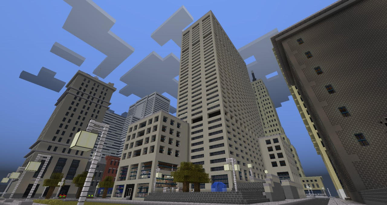 Another Minecraft City Discontinued Minecraft Project