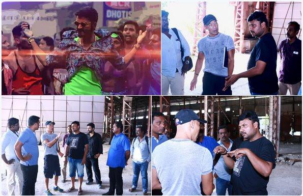 Popular Hollywood stuntman for Dhanush's next
