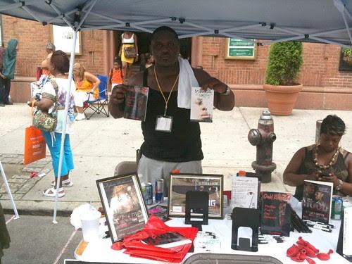 Author Alterick Gaston @ Harlem Book Fair
