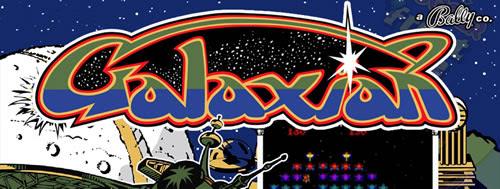 Logotipo 'Galaxian'