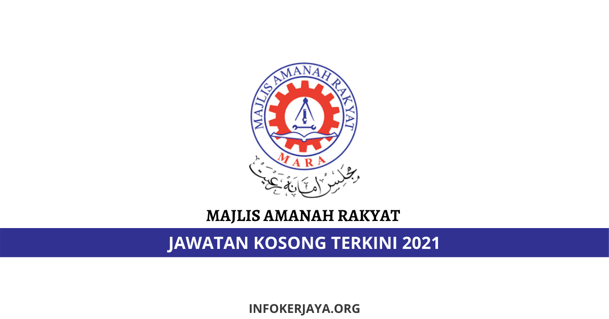 Jawatan Kosong Majlis Amanah Rakyat (MARA) • Jawatan ...