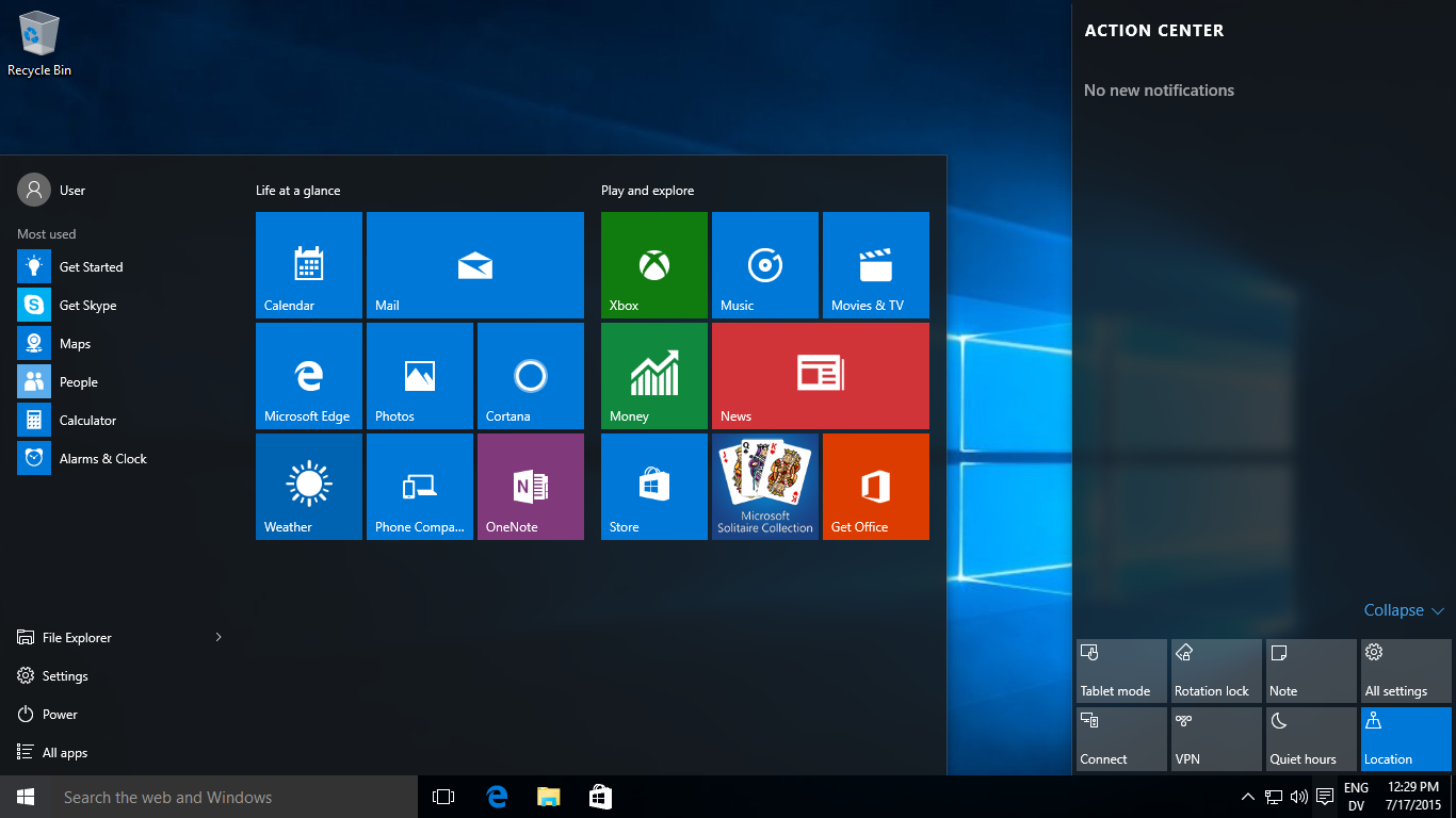 Hasil gambar untuk windows 10