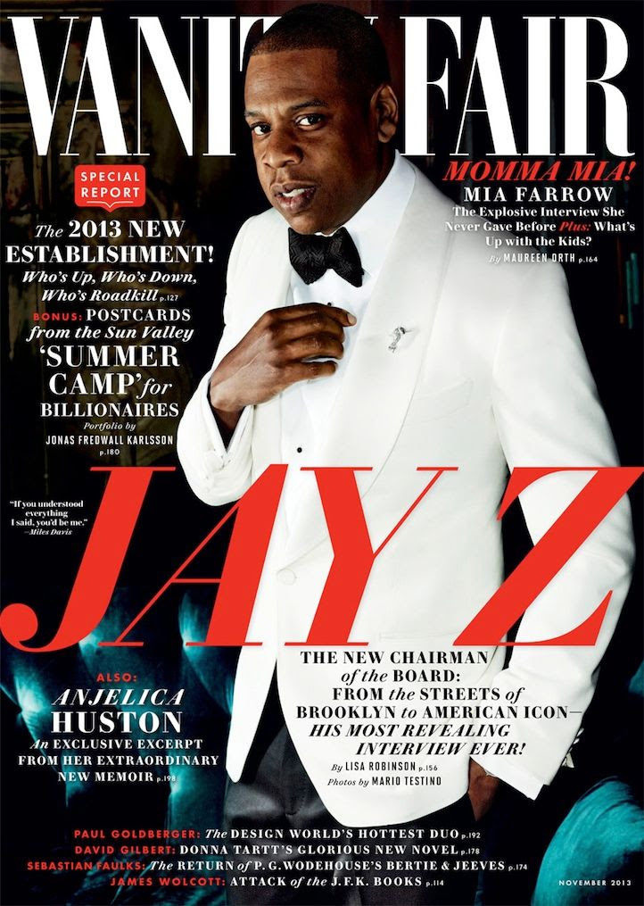 Jay Z : Vanity Fair (November 2013) photo Jay-Z-for-Vanity-Fair.jpg