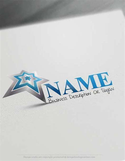 Design Free Logo Online   Star Logo template