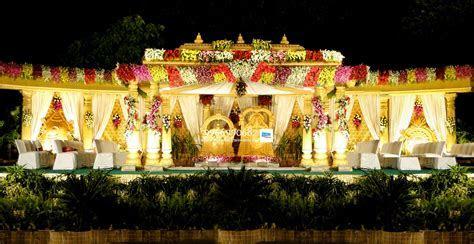 wedding stage flower decorators in hyderababd   Shobha's