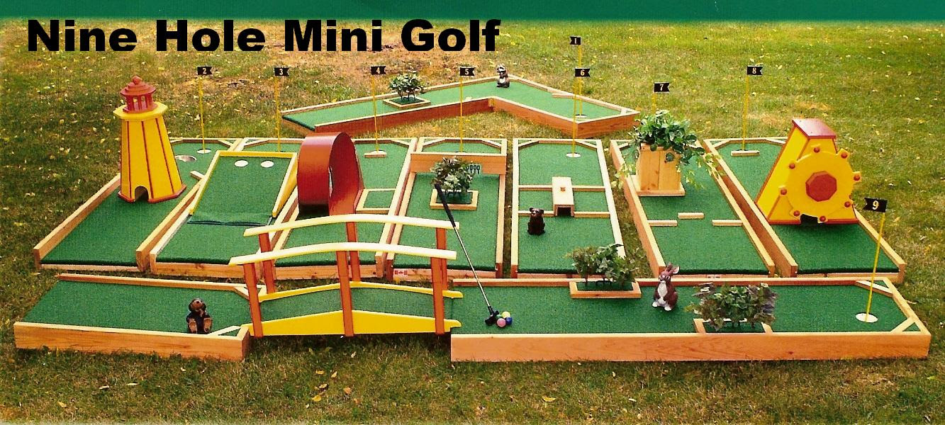 Miniature Golf Course Plans And Guide Download