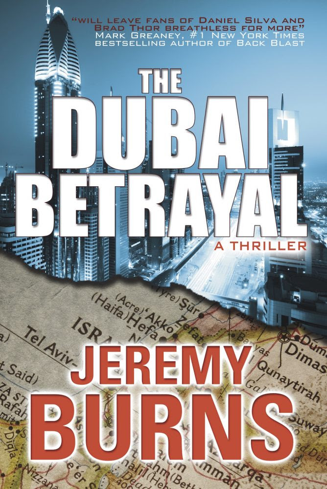 The Dubai Betrayal by Jeremy Burns | cover