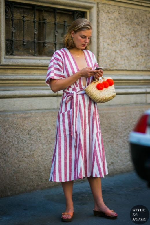 Le Fashion Blog 7 Striped Summer Dresses To Buy Now Via Style Du Monde