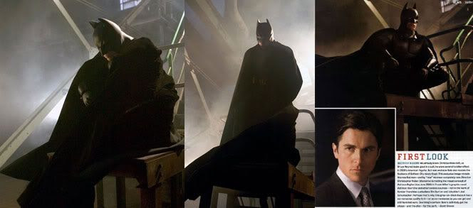 Christian Bale as the new Batman