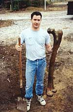 Giant human femur bone found in Turkey