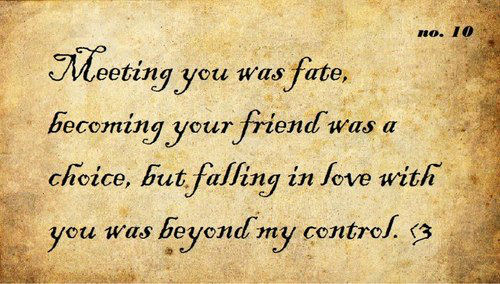 Meeting You Was Fate Love Quote Archives Facebook Image Share