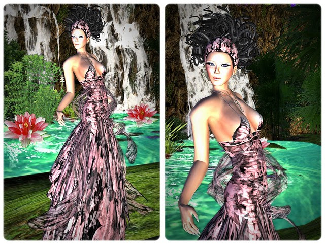 Exploring around wearing Morea Style , Vanity hair and Crystal line 02
