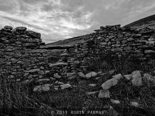 deserted village, Achill Island