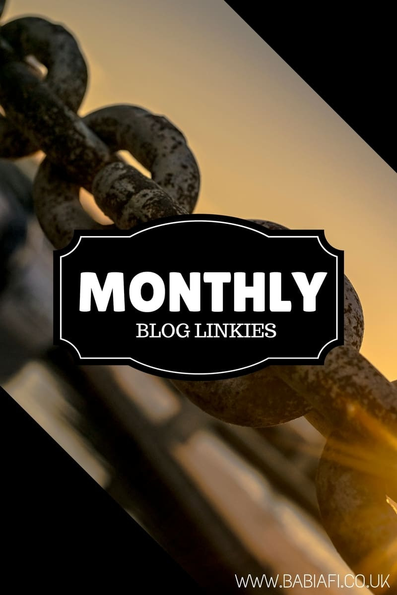 Monthly Blog Linkies