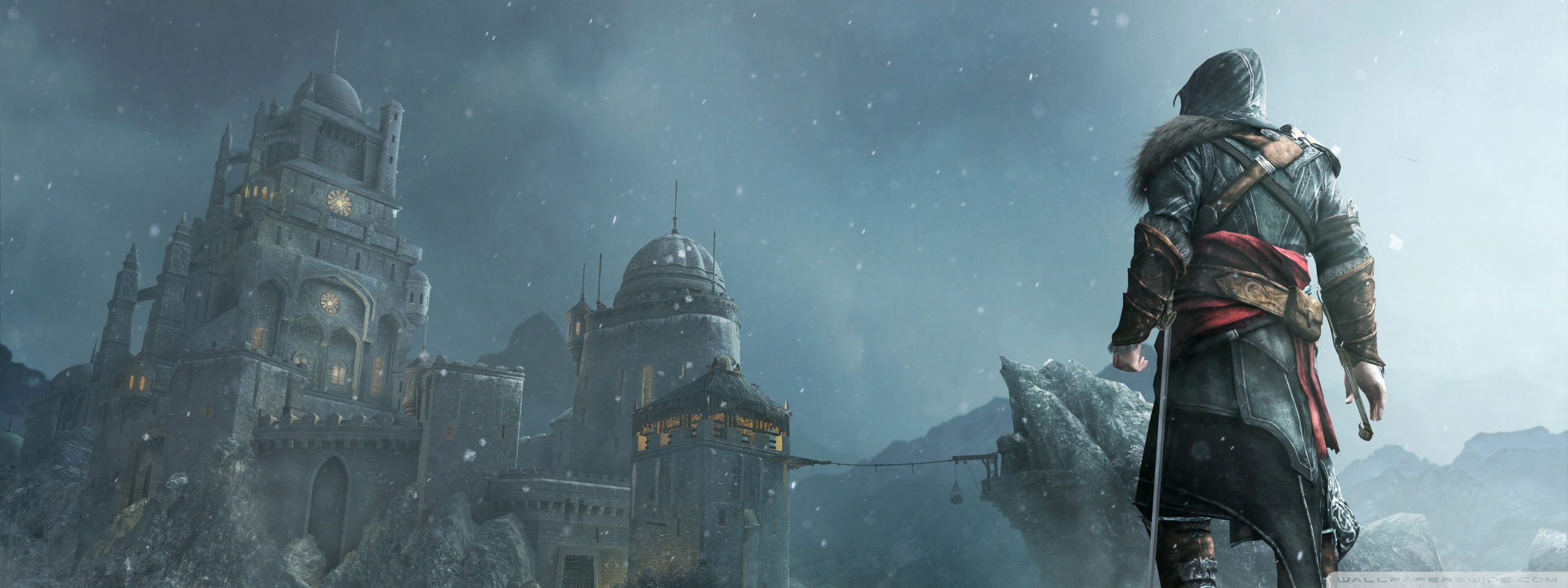 Masyaf Discovery Assassin S Creed Revelations Ultra Hd Desktop