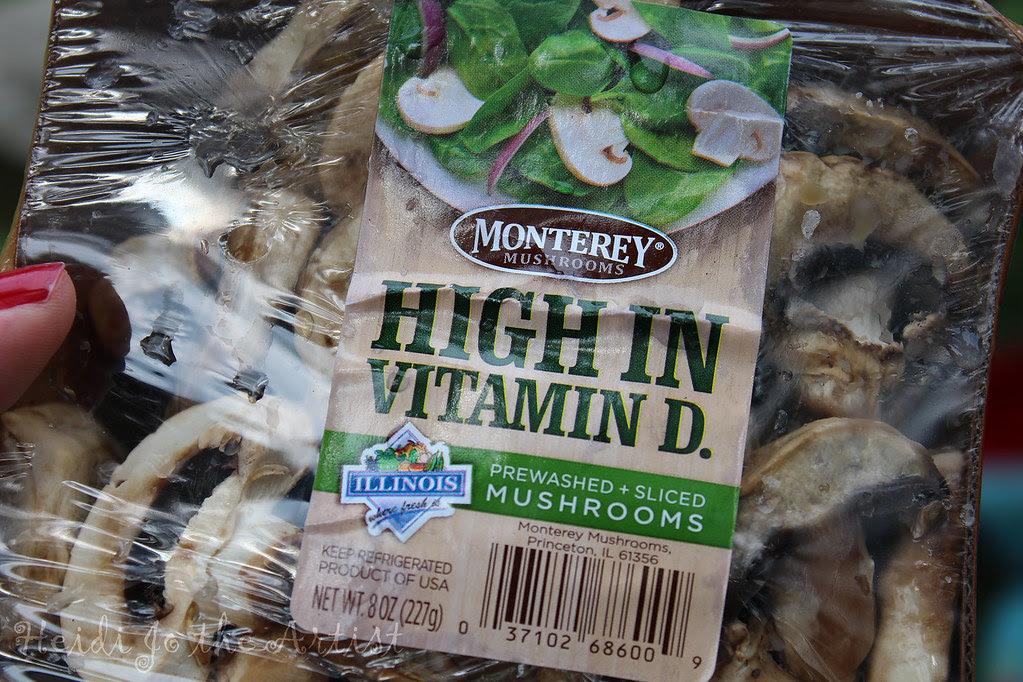 High in Vitamin D-Mushrooms