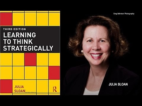 learning to think strategically sloan julia